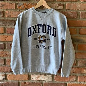 Oxford crewneck